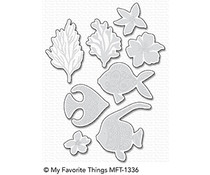 My Favorite Things Adorned Ocean Friends Die-Namics (MFT-1336)