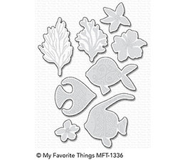 My Favorite Things Adorned Ocean Friends Die-Namics (MFT-1336)
