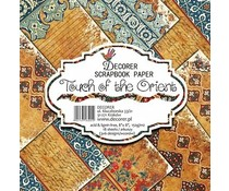 Decorer Touch of the Orient 8x8 Inch Paper Pack (B1-401)