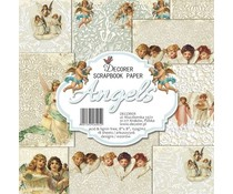 Decorer Angels 8x8 Inch Paper Pack (B5-405)