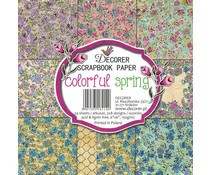 Decorer Colorful Spring 6x6 Inch Paper Pack (C11-214)