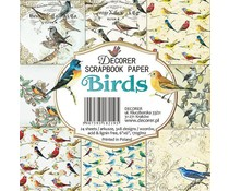 Decorer Birds 6x6 Inch Paper Pack (C15-219)