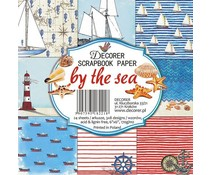 Decorer By the Sea 6x6 Inch Paper Pack (C17-221)