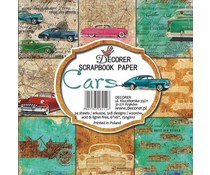 Decorer Cars 6x6 Inch Paper Pack (C7-212)