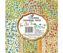 Decorer The Old Times Spring 6x6 Inch Paper Pack (C9-215)
