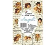 Decorer Angels Paper Pack (7x10.8cm) (M31)
