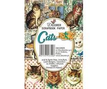 Decorer Cats Paper Pack (7x10.8cm) (M46)