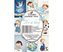 Decorer It's a Boy Paper Pack (7x10.8cm) (M50)