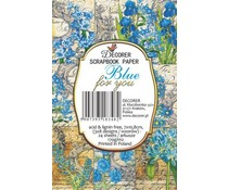 Decorer Blue for You Paper Pack (7x10.8cm) (M51)