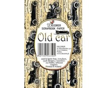 Decorer Old Car Paper Pack (7x10.8cm) (M53)