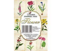 Decorer Flower Paper Pack (7x10.8cm) (M54)