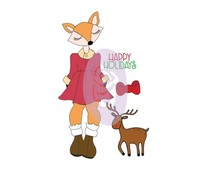 Prima Marketing Foxy Cling Stamps (912352)