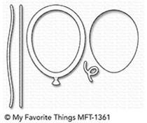 My Favorite Things Mini Balloon Shaker Window & Frame Die-Namics (MFT-1361)