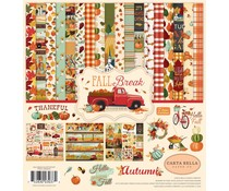 Carta Bella Fall Break 12x12 Inch Collection Kit (CBFA88016)