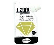 Aladine Izink Diamond Glitter Paint Gold 80ml. (80835)