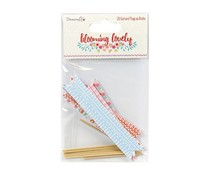 Dovecraft Dovecraft Blooming Lovely Garland Flags & Sticks (DCTOP052)