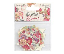 Dovecraft Painted Blooms Printed Tags (DCTOP450)