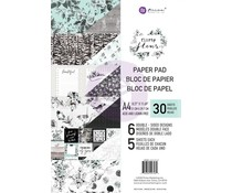 Prima Marketing Flirty Fleur A4 Paper Pad (597535)