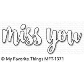 Miss You Die Namics Mft 1371 Craftlines