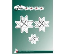 By Lene Clearstamps Woven Stars (BLS1069)