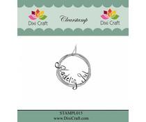 Dixi Craft Danish Text 1 Clear Stamp (STAMPL015)