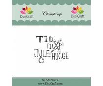 Dixi Craft Danish Text 2 Clear Stamp (STAMPL019)