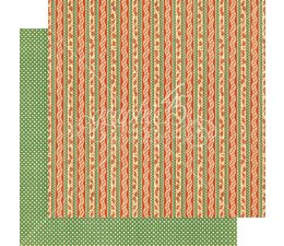 Graphic 45 Candy Cane Ribbons 12x12 Inch Paper Pack (4501731)