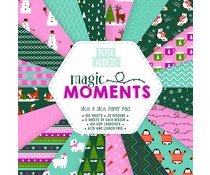 Paper Addicts Magic Moments 10x10cm Paper Pad (PAPAD024X18)