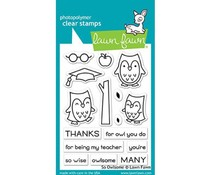Lawn Fawn So Owlsome Clear Stamps (LF1757)