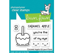 Lawn Fawn Caramel Apple Clear Stamps (LF1759)