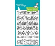 Lawn Fawn Simply Celebrate Winter Clear Stamps (LF1769)