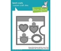 Lawn Fawn Reveal Wheel Square Add-On Dies (LF1791)