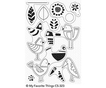 My Favorite Things Mod Birds Clear Stamps (CS-323)