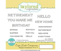 Taylored Expressions Caps Lock Companion - Happy Occasions (TEMS131)