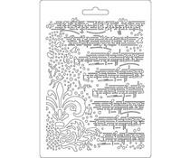 Stamperia Soft Mould A5 Music (K3PTA504)