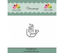 Dixi Craft Danish Text Clear Stamp (STAMPL030)