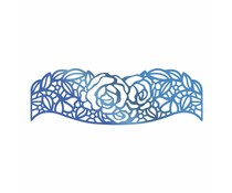 Couture Creations Hotfoil Stamp Rosey Border (CO725672)