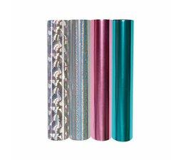 Spellbinders Glimmer Hot Foil Metallic & Holographic Variety Pack (GLF-012)