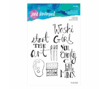 Spellbinders Crafty Minx Clear Stamps (JDS-045)