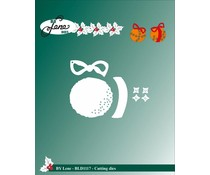 By Lene Cutting & Embossing Dies Clementines (BLD1117)
