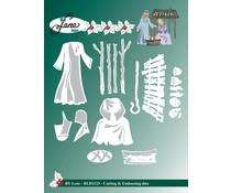 By Lene Cutting & Embossing Dies Nativity Scene (BLD1123)