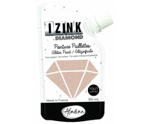 Aladine Izink Diamond Glitter Paint Gold Copper 80ml. (80824)