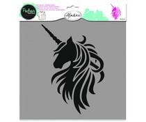 Aladine Texture Stencil Unicorn (81016)