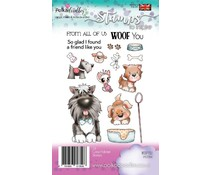Polkadoodles Woof You Clear Stamps (PD7264)