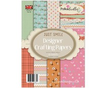 Polkadoodles Just Smile A5 Paper Pack (PD7275)