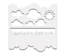 Polkadoodles Great Outdoors 6x6 Inch Stencil (PD7389)