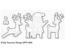 My Favorite Things Santa & Friends Die-Namics (MFT-1404)