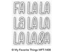 My Favorite Things Fa la la Die-Namics (MFT-1408)