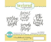 Taylored Expressions Handlettered Holiday (TEMS135)