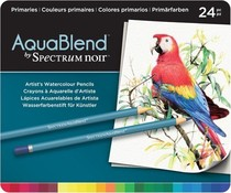 Spectrum Noir Spectrum Aquablend Watercolour Pencils Primaries (24pc) (SPECAB-PRI24)